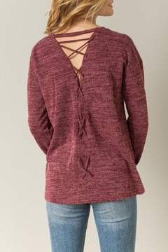 Shoptiques Product: Cross-Back Sweater