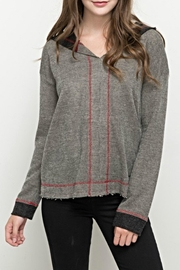 Hem & Thread Crossgrain Thread Hoodie - Product Mini Image