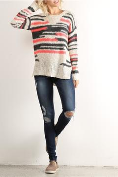 Shoptiques Product: Distract Stripe Sweater