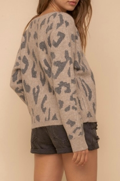 Hem & Thread Drea Leopard Sweater - Alternate List Image