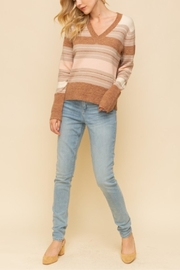 Hem & Thread Fall Leaf Sweater - Front cropped