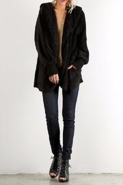 Hem & Thread Faux Fur Hoodie - Product Mini Image