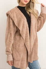 Hem & Thread Faux Fur Jacket - Product Mini Image