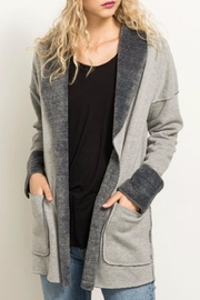 Hem & Thread Fleece Lined Jacket - Back cropped