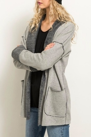 Hem & Thread Fleece Lined Jacket - Front full body