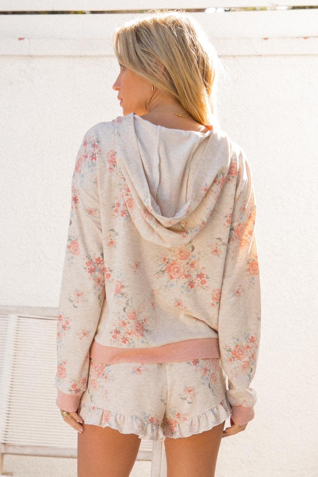 Hem & Thread Floral Cozy Top - Front Full Image