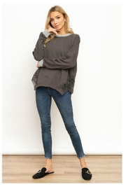 Hem & Thread French Terry Sweatshirt - Front cropped