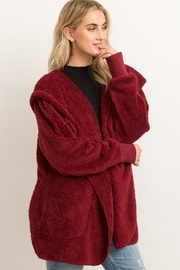 Hem & Thread Fur Open Cardigan - Other