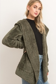 Hem & Thread Fuzzy Cardi Wrap - Product Mini Image