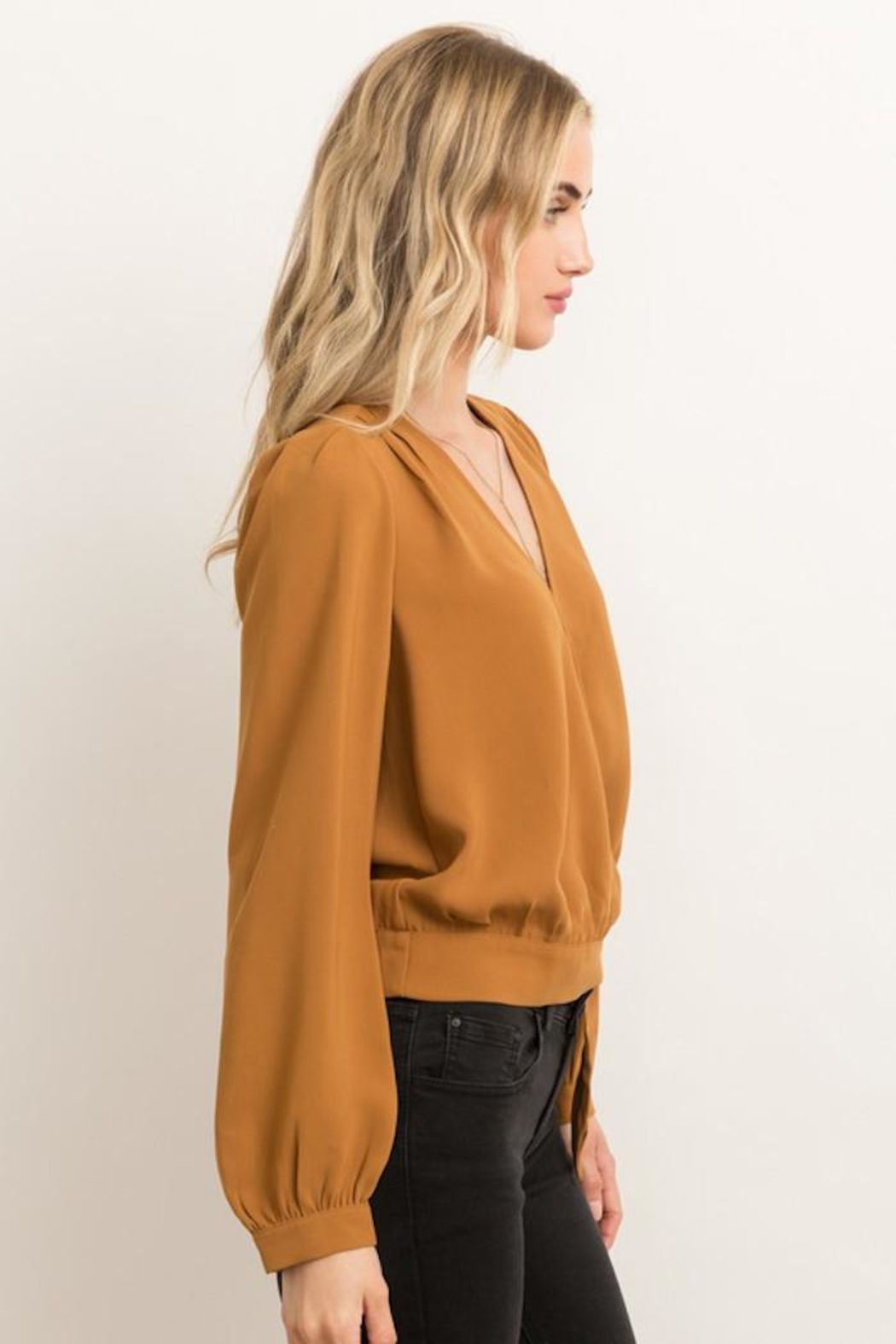 Hem & Thread Game Changer Top - Side Cropped Image