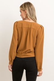Hem & Thread Game Changer Top - Back cropped