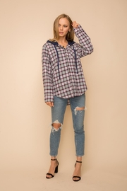 Hem & Thread Hoodie Knit Shirt - Front cropped