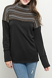 Hem & Thread Interweave Knit Sweater - Product Mini Image
