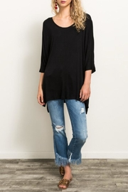 Hem & Thread Jersey Tunic Top - Product Mini Image