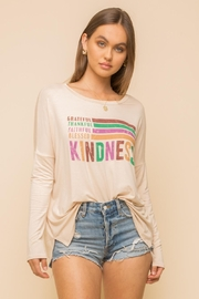 Hem & Thread Kindness Jersey Tee - Front cropped