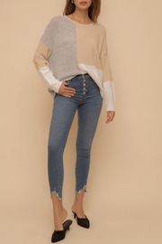 Hem & Thread Kirsten Colorblock Sweater - Product Mini Image