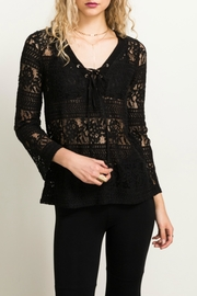 Hem & Thread Lace Bell Top - Product Mini Image