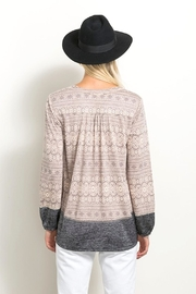Hem & Thread Lace Inset Top - Other