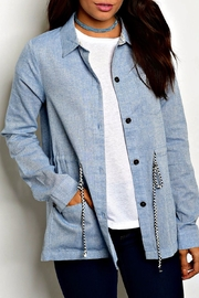Hem & Thread Light Blue Jacket - Product Mini Image