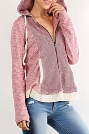 Hem & Thread Lollipop Stripes Hoodie - Product Mini Image