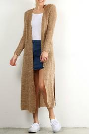 Hem & Thread Long Knit Cardigan - Product Mini Image