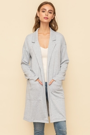 Hem & Thread Long Open Jacket - Product Mini Image