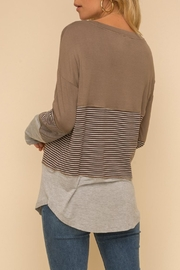 Hem & Thread Long-Sleeve Knit Top - Back cropped