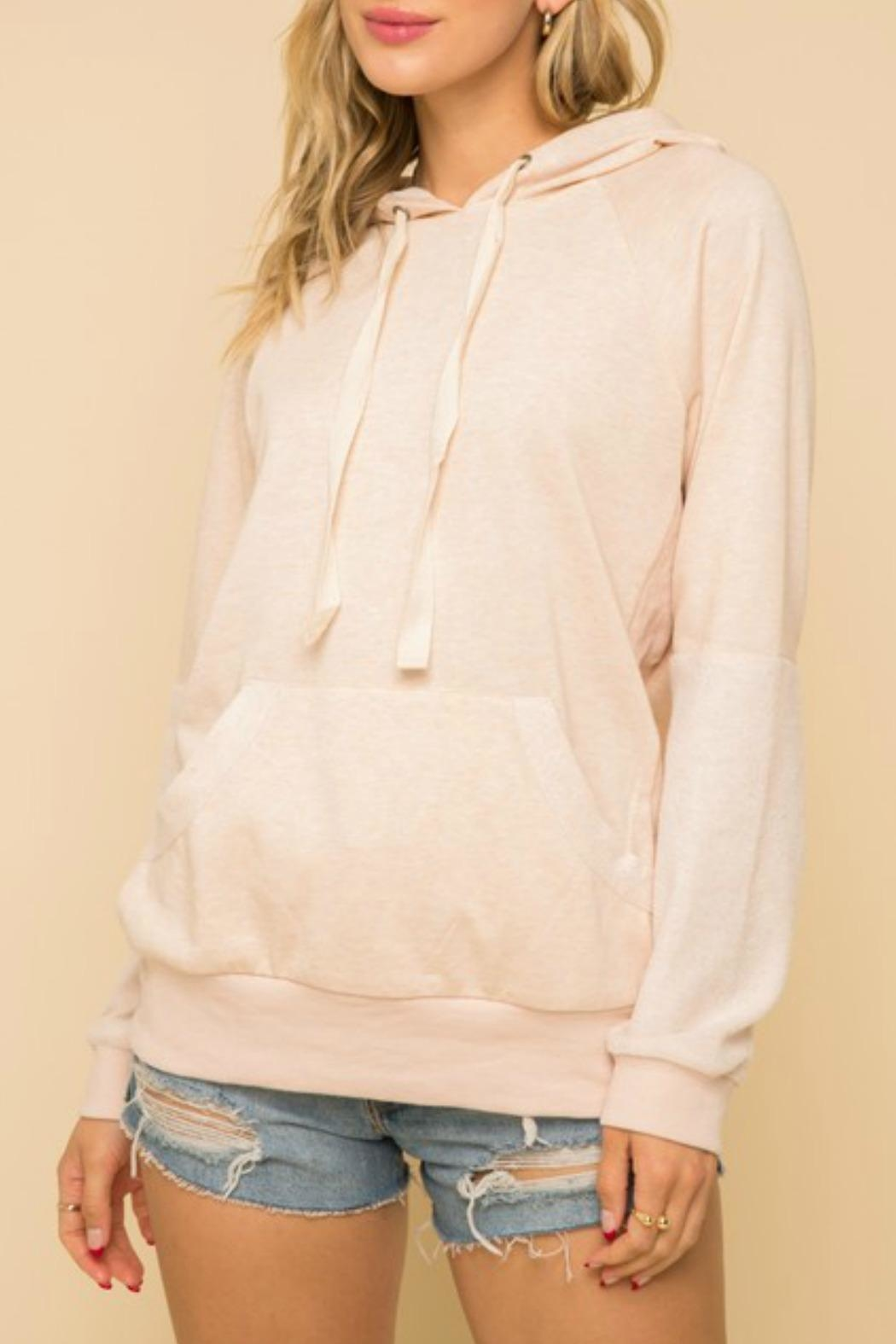 Hem & Thread Lounge Day Sweatshirt - Front Full Image