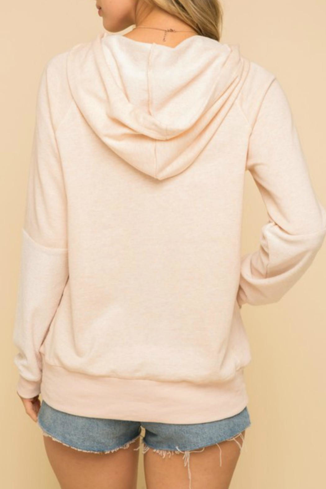 Hem & Thread Lounge Day Sweatshirt - Back Cropped Image