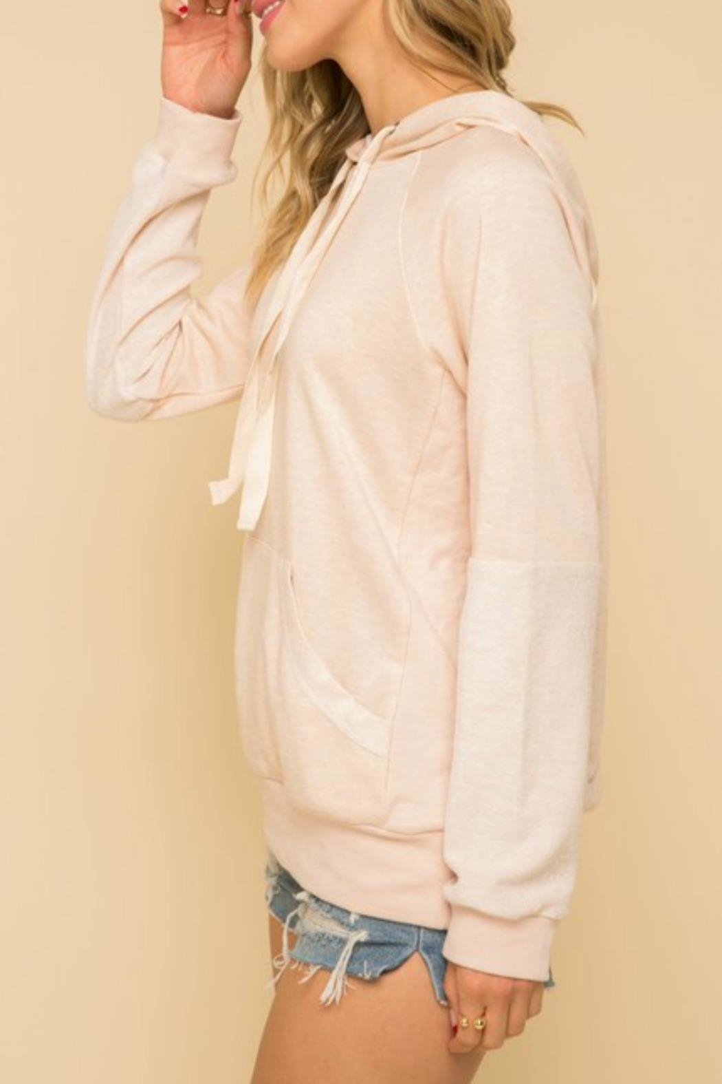 Hem & Thread Lounge Day Sweatshirt - Side Cropped Image