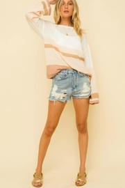 Hem & Thread Lyla Colorblock Sweater - Product Mini Image