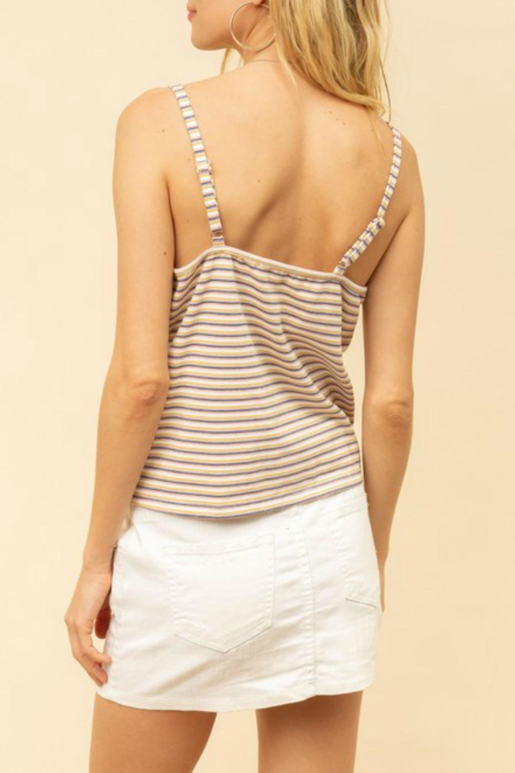 Hem & Thread Mimi Button-Up Cami - Back Cropped Image