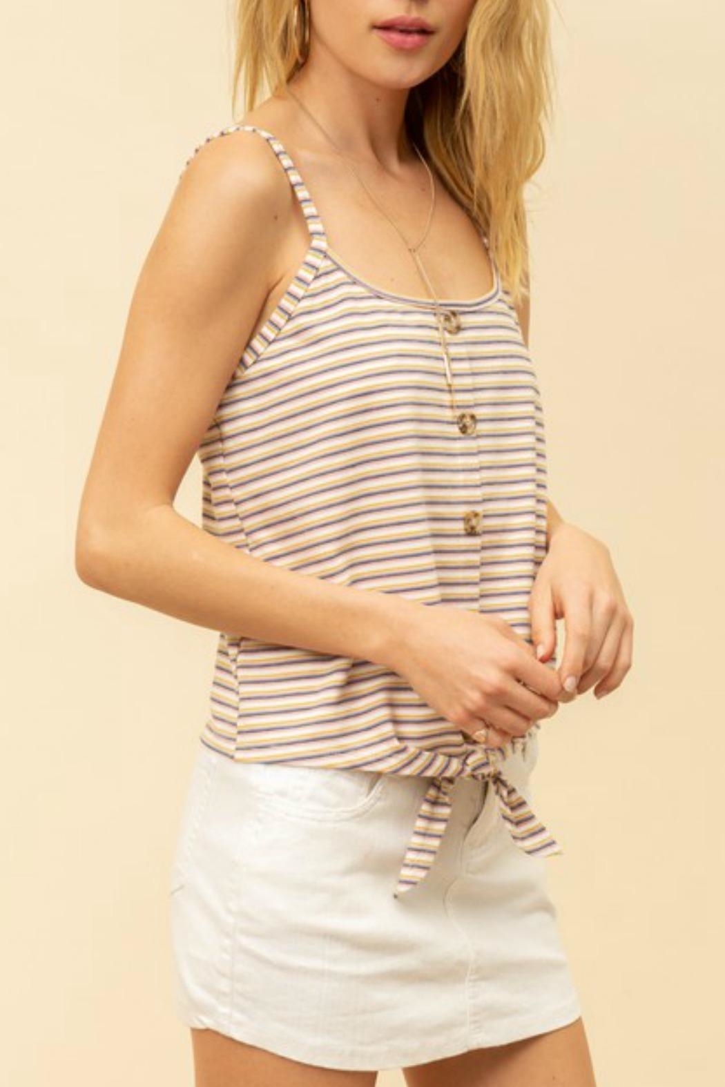Hem & Thread Mimi Button-Up Cami - Side Cropped Image