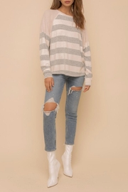 Hem & Thread Morgan Striped Sweater - Product Mini Image