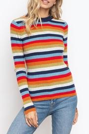 Hem & Thread Multi Stripe Top - Product Mini Image