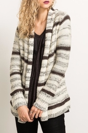 Hem & Thread Multi-Striped Cardigan - Product Mini Image