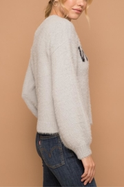 Hem & Thread Not Your Monday Sweater - Back cropped