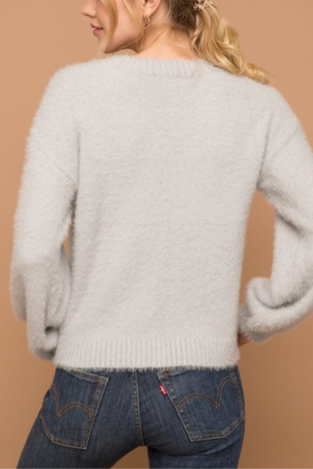 Hem & Thread Not Your Monday Sweater - Side Cropped Image