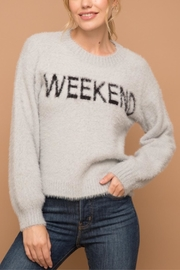 Hem & Thread Not Your Monday Sweater - Product Mini Image