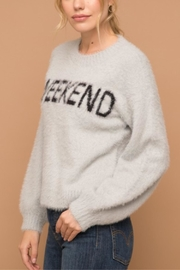 Hem & Thread Not Your Monday Sweater - Front full body