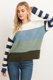 Hem & Thread Ocean Daze Sweater - Product Mini Image