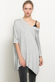 Hem & Thread Off The Shoulder High Low Hem Top - Product Mini Image