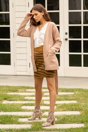Hem & Thread Open Belted Cardigan - Product Mini Image