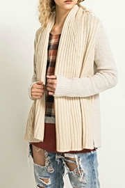 Hem & Thread Open Front Cardigan - Product Mini Image