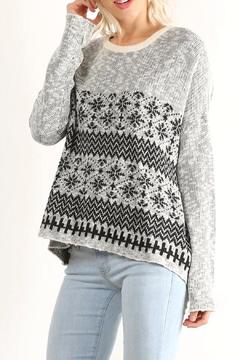Shoptiques Product: Patterned Pullover Sweater