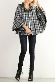 Hem & Thread Plaid Poncho Cape - Product Mini Image