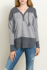 Hem & Thread Polka Dot Hoodie - Product Mini Image