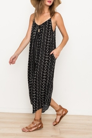 Hem & Thread Printed Oversized Jumpsuit - Other