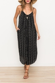Hem & Thread Printed Oversized Jumpsuit - Product Mini Image