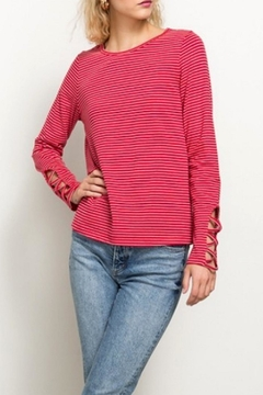 Hem & Thread Red Striped Top - Product List Image